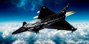 Истребитель Eurofighter Typhoon.  Новые игрушки для мальчиков.